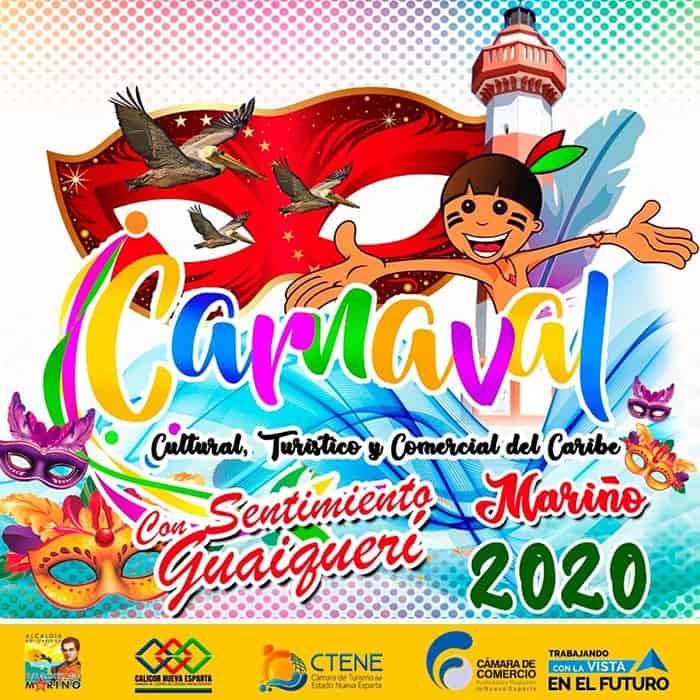 Cámara de Comercio de Nueva Esparta. Carnaval