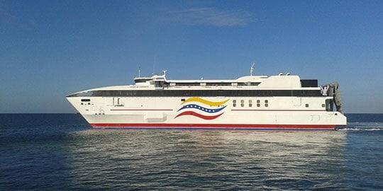 Conferry actualiza las tarifas de pasajes y transporte de vehículos hacia Margarita