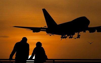 La demanda total de viajes aéreos en marzo de 2021, cayó un 67,2% en comparación con marzo de 2019