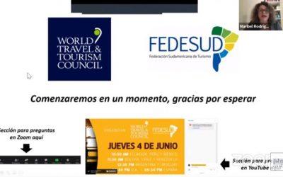 La coordinación regional es fundamental para la pronta recuperación del turismo
