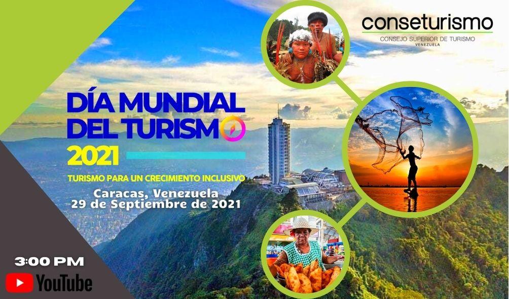 Conseturismo celebrará el Día Mundial del Turismo 2021, el 29 de septiembre
