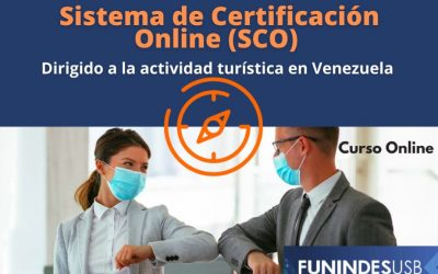 Primer curso del Sistema de Certificación Online (SCO): La bioseguridad ante el Covid-19 en el sector del turismo (gratuito)